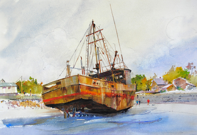 Rhode Island Watercolor Society Awards 2nd Place to P. Anthony Visco