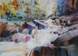 P Anthony Visco Art Work Accepted For Inclusion  In The New England Watercolor Societys Westfield Juried Exhibition