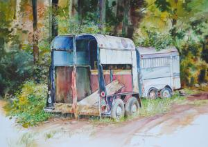 Trailer Trash Accepted In The 44th Annual Plymouth Exhibition Juried Art Exhibition